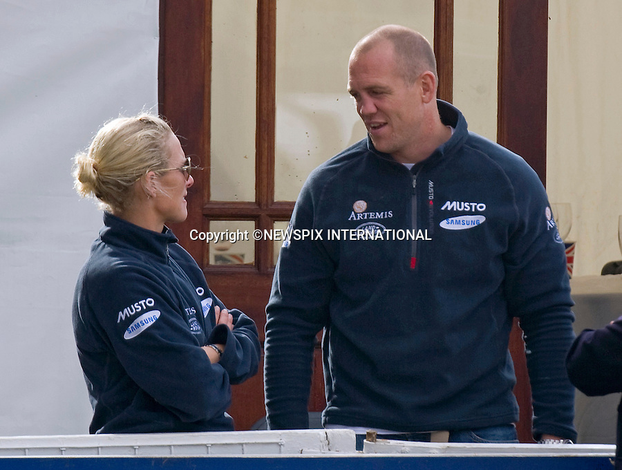 "ZARA PHILLIPS AND HUSBAND MIKE TINDALL.It was an emotional day for Zara, who fought back tears during her farewell to her favourite horse ""Ginger"" Toytown, Gatcombe Estate, Minchinhampton, Gloucestershire_07/08/2011.Mandatory Credit Photo: ©Dias/NEWSPIX INTERNATIONAL..**ALL FEES PAYABLE TO: ""NEWSPIX INTERNATIONAL""**..IMMEDIATE CONFIRMATION OF USAGE REQUIRED:.Newspix International, 31 Chinnery Hill, Bishop's Stortford, ENGLAND CM23 3PS.Tel:+441279 324672  ; Fax: +441279656877.Mobile:  07775681153.e-mail: info@newspixinternational.co.uk"
