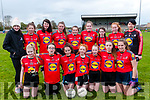 Ladies Football Blitz: The students from Killarney Community  College who took part in a football blitz at Listowel GAA pitch on Friday last.
