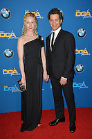 Thomas Kail &amp; Angela Christian at the 69th Annual Directors Guild of America Awards (DGA Awards) at the Beverly Hilton Hotel, Beverly Hills, USA 4th February  2017<br /> Picture: Paul Smith/Featureflash/SilverHub 0208 004 5359 sales@silverhubmedia.com