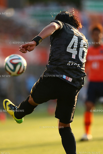 Ryota Moriwaki (Reds), MAY 10, 2014 - Football /Soccer : 2014 J.LEAGUE Division 1 match between Omiya Ardija 0-2 Urawa Red Diamonds at NACK5 Stadium Omiya, Saitama, Japan. (Photo by Yohei Osada/AFLO SPORT) [1156]