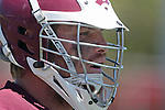 Orange, CA 05/01/10 - An LMU player watches the action on the field during the LMU-Chapman MCLA SLC semi-final game in Wilson Field at Chapman University.  Chapman advanced to the final by defeating LMU 19-10.