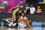 07.09.2014. Barcelona, Spain. 2014 FIBA Basketball World Cup, round of 16. Picture show M. Vukona  in action during game between New Zealand   v  Lithuania at Palau St. Jordi