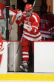 Corey Trivino (BU - 10) - The Boston University Terriers defeated the Harvard University Crimson 6-5 in overtime on Tuesday, November 24, 2009, at Bright Hockey Center in Cambridge, Massachusetts.