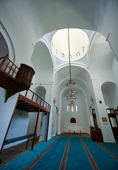 "Pictures & images of Guzelyurt Chuch Mosque interior, formely St Gregorius church,  9th century, the Vadisi Monastery Valley, ""Manastır Vadisi"",  of the Ihlara Valley, Guzelyurt , Aksaray Province, Turkey."