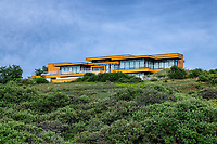 Modern beach house.