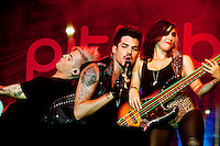 Ashley Dzerigan bass player for Adam Lambert