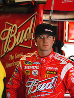Apr 24, 2009; Talladega, AL, USA; NASCAR Sprint Cup Series driver Kasey Kahne during practice for the Aarons 499 at Talladega Superspeedway. Mandatory Credit: Mark J. Rebilas-
