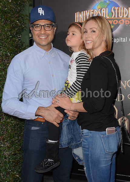 """05 April 2016 - Universal City, California - Jaime Camil. Arrivals for Universal Studios' """"Wizarding World of Harry Potter Opening"""" held at Universal Studios Hollywood. Photo Credit: Birdie Thompson/AdMedia"""