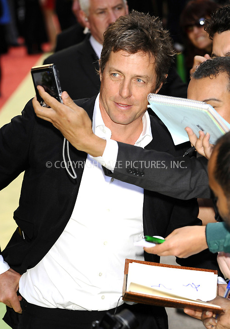 WWW.ACEPIXS.COM . . . . .  ..... . . . . US SALES ONLY . . . . .....May 9 2011, London....Hugh Grant arriving at the European premiere of Fire In Babylon at the Odeon Leicester Square on May 9, 2011 in London, England....Please byline: FAMOUS-ACE PICTURES... . . . .  ....Ace Pictures, Inc:  ..Tel: (212) 243-8787..e-mail: info@acepixs.com..web: http://www.acepixs.com