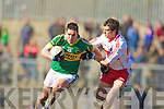 Kerry v Derry National League in Austin Stack park in Tralee on Sunday.