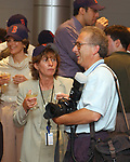 Dave Pokress, seen at the retirement Celebration for Tony Marro held at Melville Office of Newsday on Tuesday, August 12, 2003. (Photo / Jim Peppler).