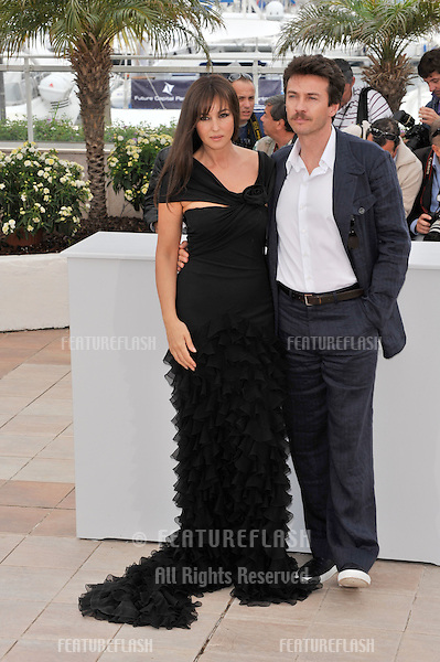 "Monica Bellucci & Alessio Boni at photocall for her new movie ""Sanguepazzo - Une Histoire Italienne"" at the 61st Annual International Film Festival de Cannes..May 19, 2008  Cannes, France..Picture: Paul Smith / Featureflash"