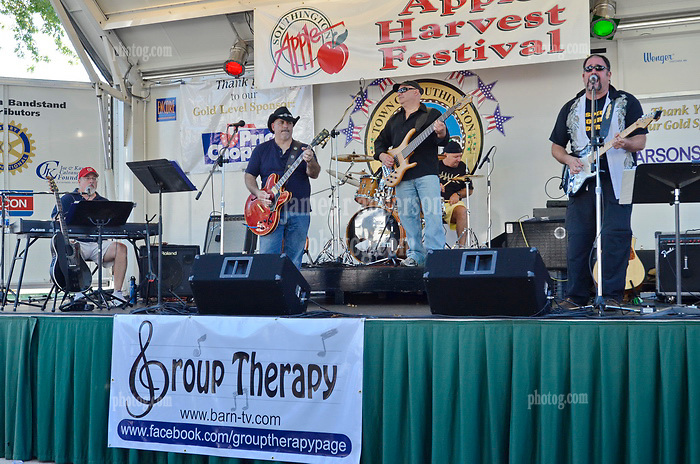 Group Therapy in Concert at the Apple Harvest Festival 2011