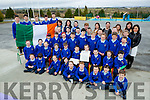 Raheen NS teachers and children raised the tricolour and the proclamation for their 1916 celebrations on Thursday