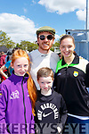 Tanya McCorrum, Aaron and Clodagh Moriarty met Michael Fassbender at the Rally of the Lakes on Sunday
