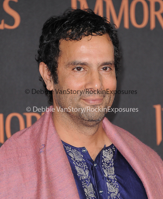 Tarsem Singh attends the Relativity World Premiere of Immortals held at The Nokia Theater Live in Los Angeles, California on November 07,2011                                                                               © 2011 DVS / Hollywood Press Agency