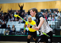 Action from the 2019 Under-19 Men's World Floorball Championships Qualification match between New Zealand and Japan at ASB Sports Centre in Wellington, New Zealand on Friday, 28 September 2018. Photo: Dave Lintott / lintottphoto.co.nz