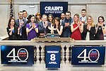 Crain's New York Business 40 Under 40 4.8.15