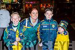 Padraic moynihan, olivia Lynch, Cian Lynch and Oran Lynch Kilcummin  at the Kerry team homecoming in Killarney on Monday