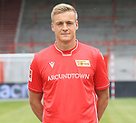 06.07.2019, Stadion an der Wuhlheide, Berlin, GER, 2.FBL, 1.FC UNION BERLIN , Mannschaftsfoto, Portraits, <br /> DFL  regulations prohibit any use of photographs as image sequences and/or quasi-video<br /> im Bild Felix Kroos (1.FC Union Berlin #23)<br /> <br /> <br />      <br /> Foto © nordphoto / Engler