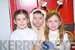 "Sophie Parish, Anto?n O'Connor and Ciara Kennelly. pose for the camera before going on stage in ""The Night Before Christmas"" at the parish hall Ballylongford on Sunday..   Copyright Kerry's Eye 2008"
