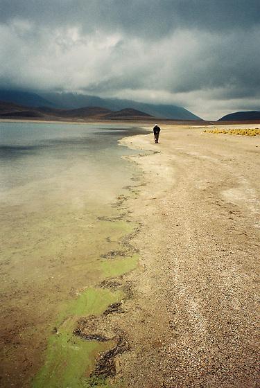 &quot;Anduve en la imposible y melanc&oacute;lica b&uacute;squeda de un devenir ya pasado&quot;.<br /> <br /> The Miscanti lagoon walker / desierto de Atacama, Chile.<br /> <br /> PREMIO INTERNACIONAL DE FOTOGRAF&Iacute;A EN LA BIENAL DE FLORENCIA DE ARTE CONTEMPOR&Aacute;NEO 2011, ITALIA.<br /> <br /> INTERNATIONAL AWARD IN FLORENCE BIENNALE OF CONTEMPORARY ART 2011, ITALY.<br /> <br /> EDICI&Oacute;N LIMITADA / LIMITED EDITION (10)