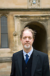 Adam Roberts at the Divinity School, Bodleian Library during the Sunday Times Oxford Literary Festival, UK, 16 - 24 March 2013.<br />