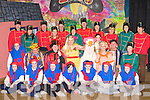 The Rathmore Marian players who will start their 2009 panto Mother Goose this Sunday in Rathmore Community Centre front row l-r: Kate Sheehan, Julie McCarthy, Carina Cronin, Denise Hickey, Katie Cremin, Mairead O'Sullivan, Louise Hassett. Middle row: Brid O'Riordan, Dan O'Donoghue, Brian Hickey, Arthur Moynihan, Ashley Crowley, Sinead Murphy, Brian Kelly, Joanna Hughes. Back row: Denis O'Shea, Diane Healy, Diarmuid O'Keeffe, Geraldine Long, Pat Cronin, Niamh o'Mahony, Diarmuid McCarthy, Leanne O'Riordan, Carol Sheehan Mary Kelly, Noreen Nagle and Mary O'Sullivan
