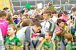 Shane Enright and James O'Donoghue at Kerry GAA family day at Fitzgerald Stadium on Saturday.