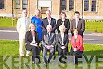 CBS THE GREEN: The Board of Management of CBS the Green, Tralee seated l-r: Anne O'Callaghan (principal), Tom O'Halloran (chairperson), Catherine Hanafin (parent nominee) and Vivienne Nolan (trustee nominee). Back l-r: John Carroll (parent nominee), Karen Tobin (teacher nominee), David Doyle (trustee nominee), Josephine Cahill (parent nominee) and Robert Flaherty (teacher nominee).