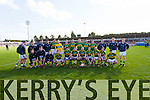 Kerry Team against  Cork in the National Football League at Pairc Ui Rinn on Sunday.