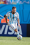 Ezequiel Lavezzi (ARG), JULY 1, 2014 - Football / Soccer : FIFA World Cup Brazil 2014 Round of 16 match between Argentina 1-0 Switzerland at Arena de Sao Paulo in Sao Paulo, Brazil. (Photo by Maurizio Borsari/AFLO)