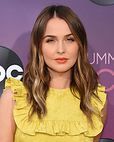 05 August 2019 - West Hollywood, California - Camilla Luddington. ABC's TCA Summer Press Tour Carpet Event held at Soho House.   <br /> CAP/ADM/BB<br /> ©BB/ADM/Capital Pictures