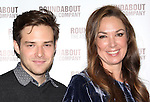 Ben Rappaport & Elizabeth Marvel attending the Meet & Greet for the Roundabout Theatre Company's 'Picnic' at their rehearsal studios  in New York City. November 29, 2012.