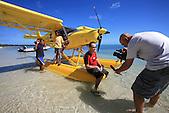 Interview du pilote de l'hydro ULM, durant le Tour de Calédonie 2007, Kodjeu, Ile des Pins