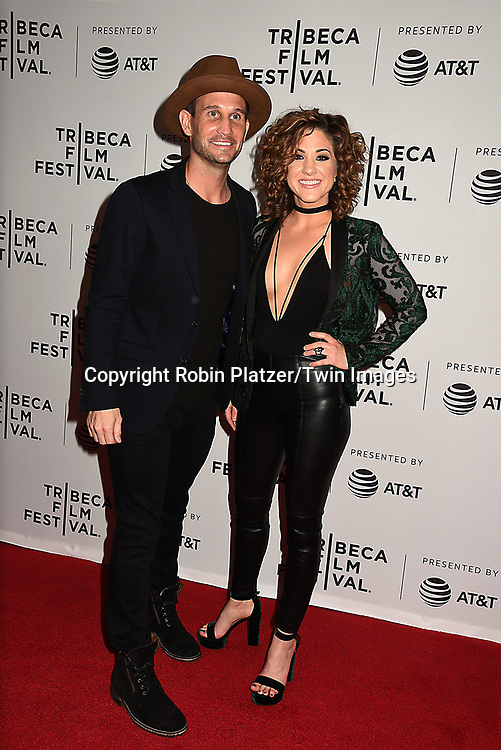 singers Stranger Friend's John Martin &amp; Jamie Floyd attends the Dog Years&quot; screening at the Tribeca Film Festival on April 22, 2017 at Cinepolis Chelsea in New York, New York, USA.<br /> <br /> photo by Robin Platzer/Twin Images<br />  <br /> phone number 212-935-0770