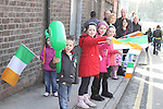 at the 2011 St.Patrick's Day Parade in Drogheda..(Photo credit should read Jenny Matthews/www.newsfile.ie)....This Picture has been sent you under the conditions enclosed by:.Newsfile Ltd..The Studio,.Millmount Abbey,.Drogheda,.Co Meath..Ireland..Tel: +353(0)41-9871240.Fax: +353(0)41-9871260.GSM: +353(0)86-2500958.email: pictures@newsfile.ie.www.newsfile.ie.