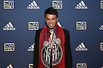 January 17th, 2013: #2 draft pick Carlos Alvarez, selected by the Chivas USA. The 2013 MLS SuperDraft was held during the NSCAA Annual Convention held in Indianapolis, Indiana.