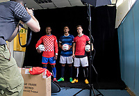 Photoshoot during the PEAK Elite Sportswear Photoshoot at Wycombe Training Ground, High Wycombe, England on 1 August 2017. Photo by PRiME Media Images.