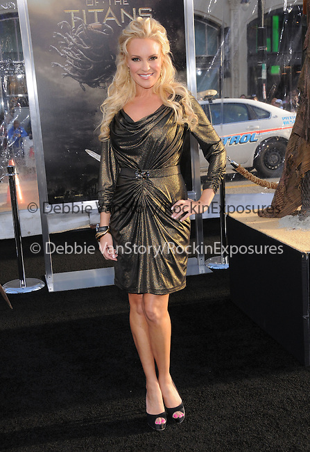 Bridget Marquardt at The Warner Bros. Pictures L.A. Premiere of Clash of The Titans held at The Grauman's Chinese Theatre in Hollywood, California on March 31,2010                                                                   Copyright 2010  DVS / RockinExposures