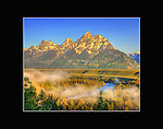 Snake River Overlook in Grand Teton National Park,Wyoming.