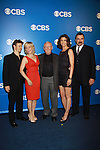 Blue Bloods Will Estes, Amy Carlson, Len Cariou, Bridget Moynahan, Tom Selleck - CBS Upfront 2012 at the Tent in Lincoln Center, New York City, New York. (Photo by Sue Coflin/Max Photos)
