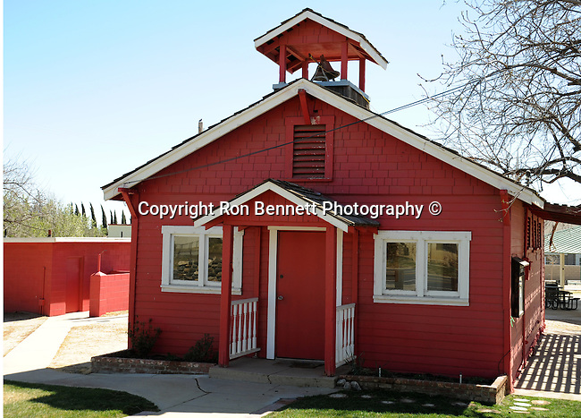little old red school house California,