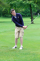 Gavin Flanagan (Mullingar) on the 2nd during round 1 of The Mullingar Scratch Cup in Mullingar Golf Club on Sunday 3rd August 2014.<br /> Picture:  Thos Caffrey / www.golffile.ie
