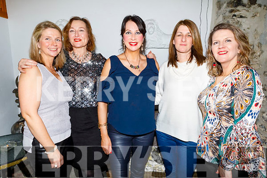 Enjoying the evening in Bella Bia on Friday.<br /> L to r: Jean Marie Horan, Deirdre McCormack Kennedy, Juilette O'Connor, Julie Flannery and Elaine Hilliard.