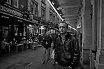 Londyn 2009-10-24. Londyska ulica w okolicy Covent Garden