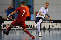 Dean Withers of England makes a pass during England vs Poland, International Futsal Friendly at St George's Park on 2nd June 2018