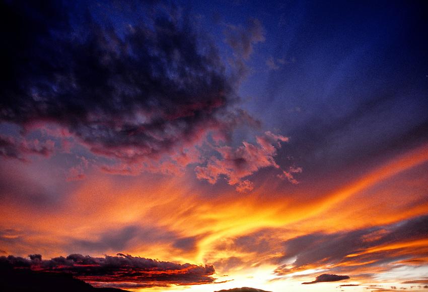 Sunset, Wyoming USA
