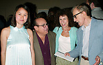 Woody Allen and Soon-Yi Allen with.Danny Devito and Rhea Perlman.Attending the Pre-Cocktail Reception Party for the Movie Premiere of ANYTHING ELSE at Restaurant Brasserie .8 1/2  with a Screening at the Paris Theatre, .New York City..September 16, 2003..