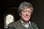 Roger Scruton, philosopher, at Christ Church during the FT Weekend Oxford Literary Festival, Oxford, UK. Thursday 27 March 2014.<br /> <br /> PHOTO COPYRIGHT Graham Harrison<br /> graham@grahamharrison.com<br /> <br /> Moral rights asserted.